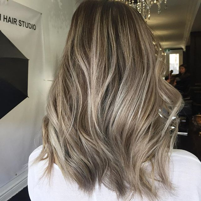 Image result for blonde without foil highlights