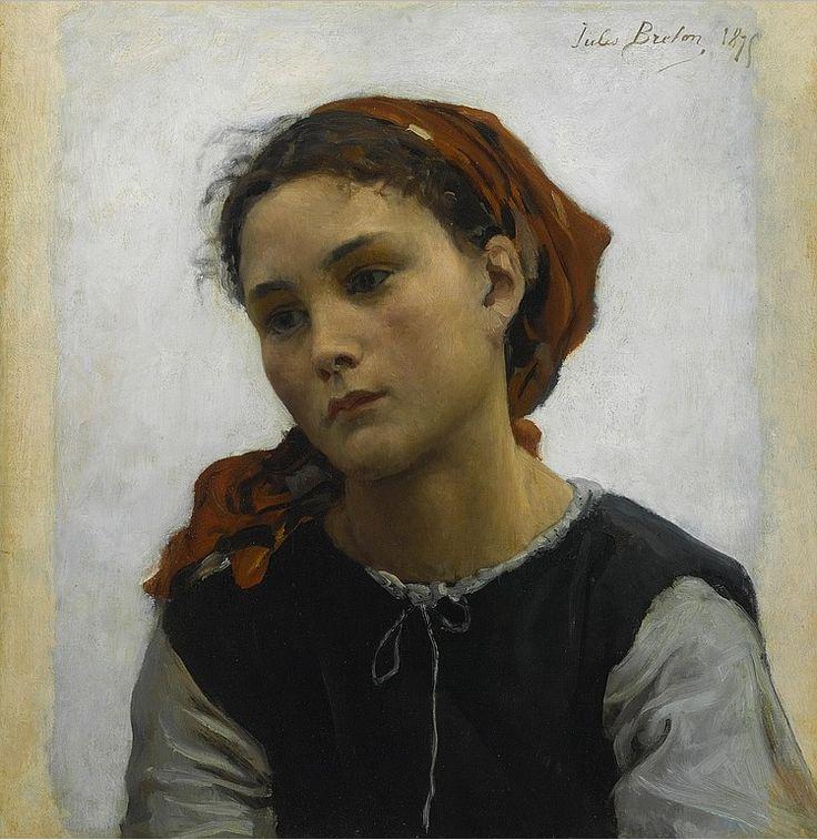 """""""Innocente"""" Jules Breton (1827-1906)"""