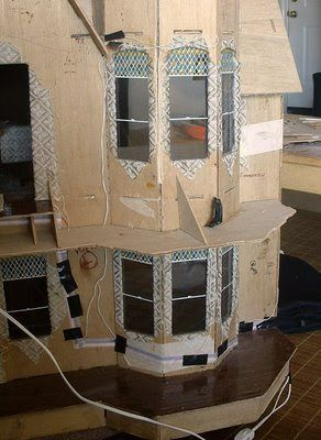 The Garfield Blog: How to Electrify a Dollhouse