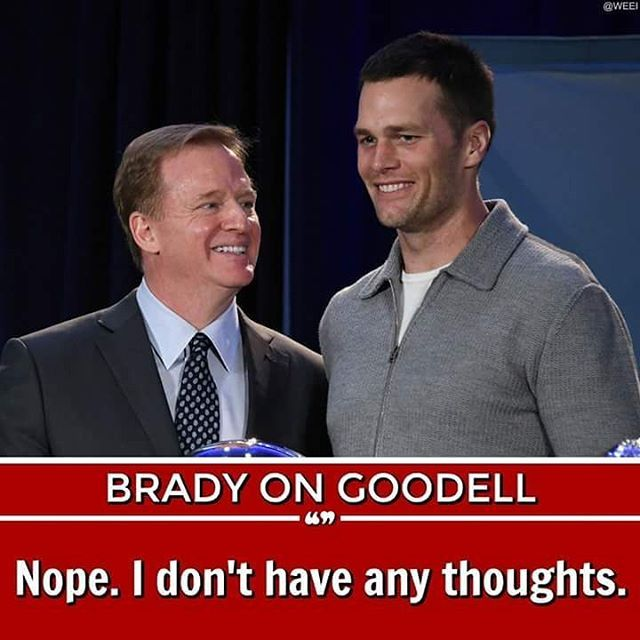 Tom Brady on K&C reacts to Roger Goodell reportedly close to getting contract extension