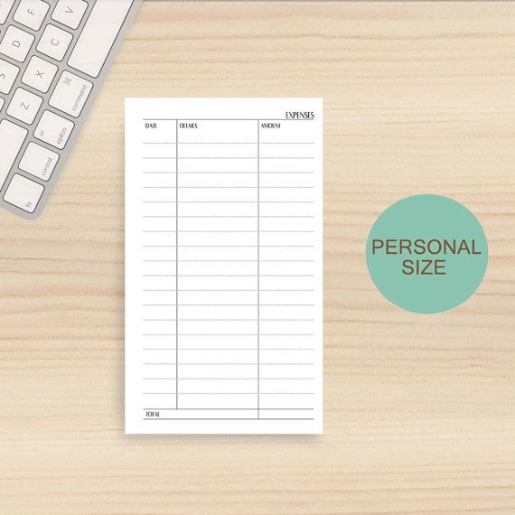 Best 25+ Daily expense tracker ideas on Pinterest Expense - detailed expense report template