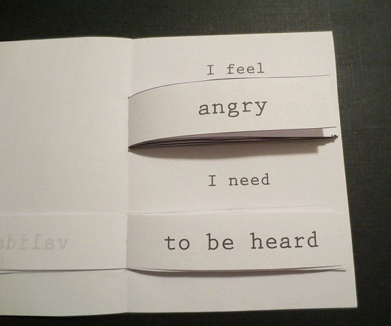 I Feel/I Need Self-Care Flipbook by Snaughtie on Etsy                                                                                                                                                                                 More