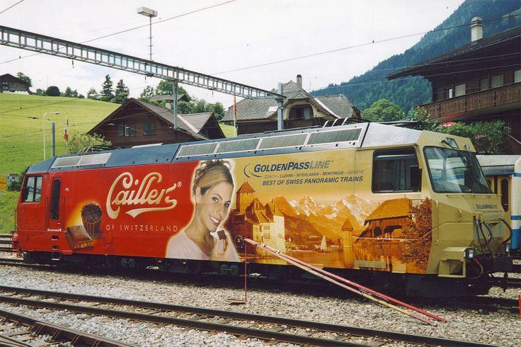 Chemin de fer Montreux - Oberland Bernois (MOB), Ge 4/4 8004, Zweisimmen (BE)