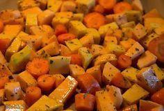 Food and feeling: Helpot uunijuurekset