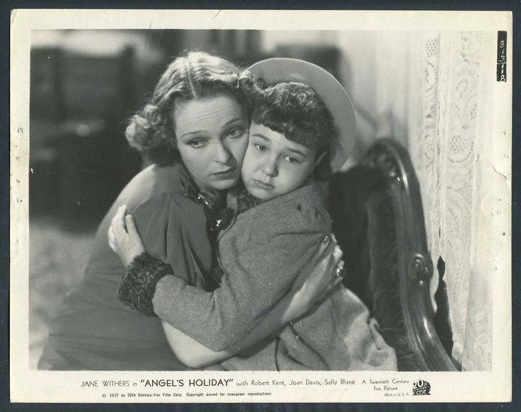 Jane Withers, Angel's Holiday, Sally Blane