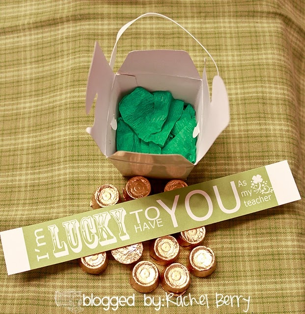 St. Patricks teacher gift idea
