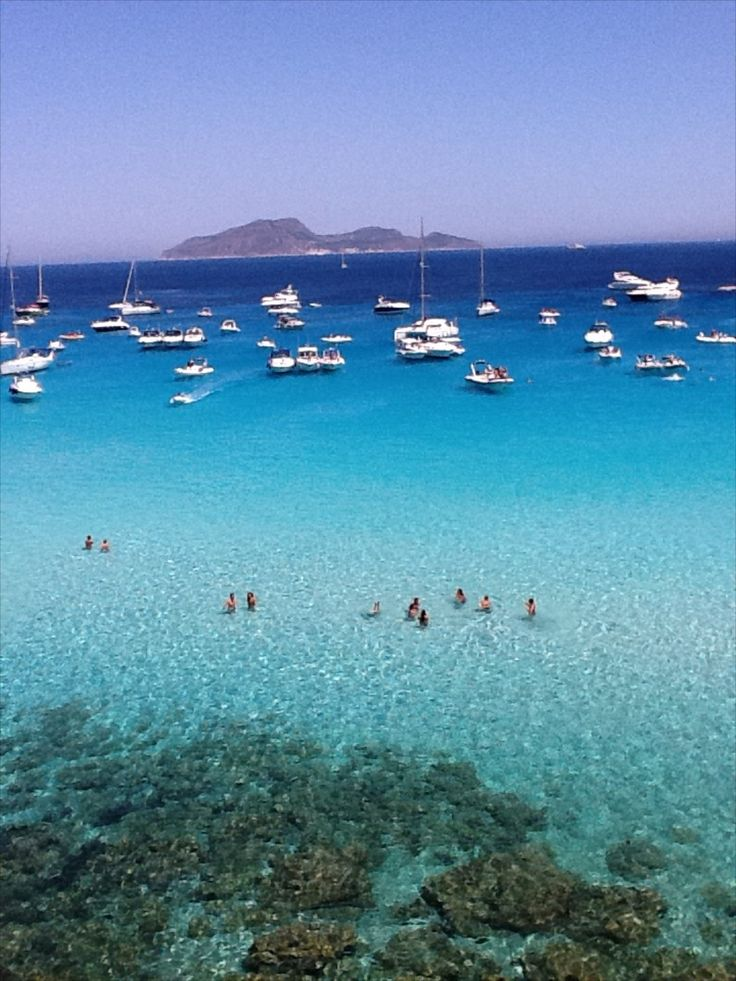 The Cala Rossa Bay in Favignana - http://www.culturediscovery.com/sicily-italy-cooking-vacation/cooking-a-adventure-on-the-islands-of-sicily.html