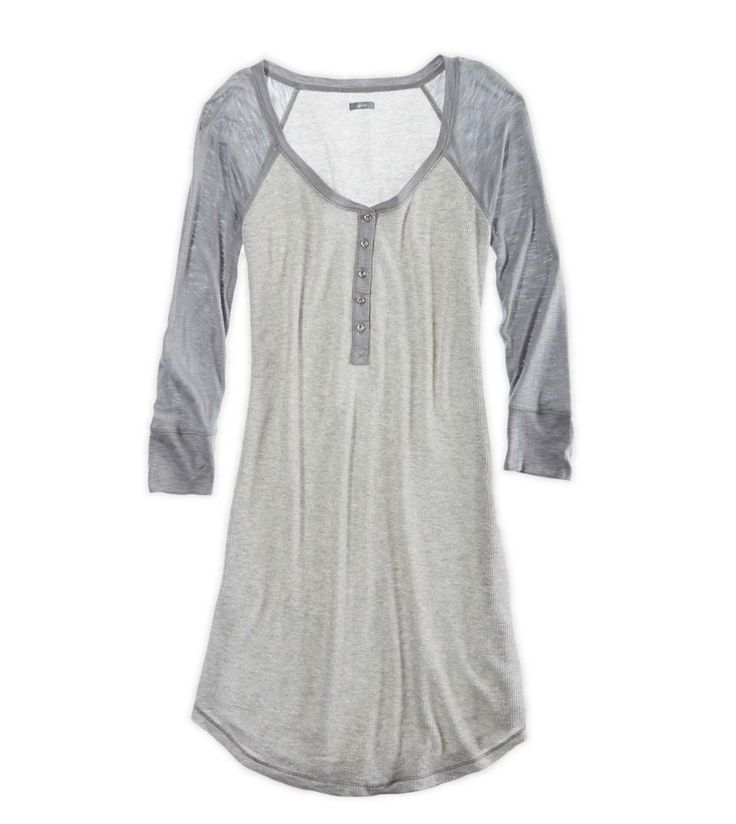 Aerie Sparkle Raglan Nightie <3 so cute! Love it!
