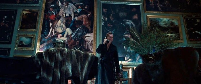 Cecco del Caravaggio, Resurrection,  in The Great Gatsby