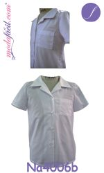 Descarga gratis los patrones de la Blusa - Camisa Escolar para Niñas y Niños NA4006b
