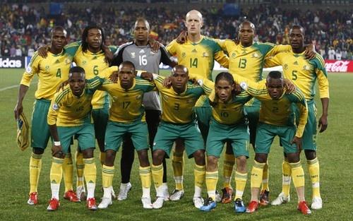 Bafana Bafana a bocca asciutta