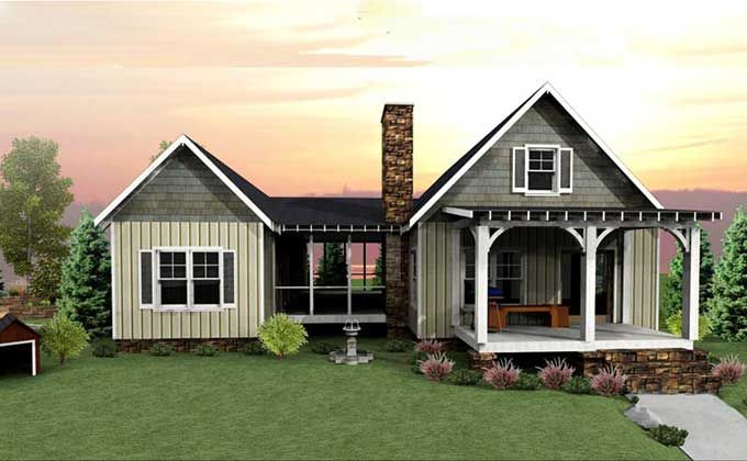 Dog Trot House Plan Screened Porches House Plans And Cabin