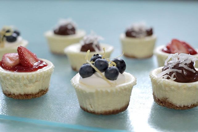 If you're a cheesecake fan, our recipe for luscious berry-topped minis will send you straight to the store for the ingredients.