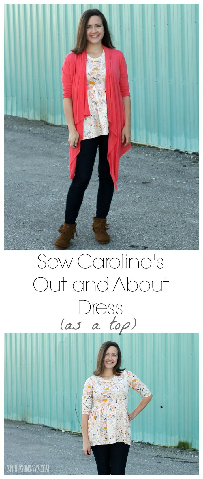 Sew Caroline's Out and About Dress – As A Top