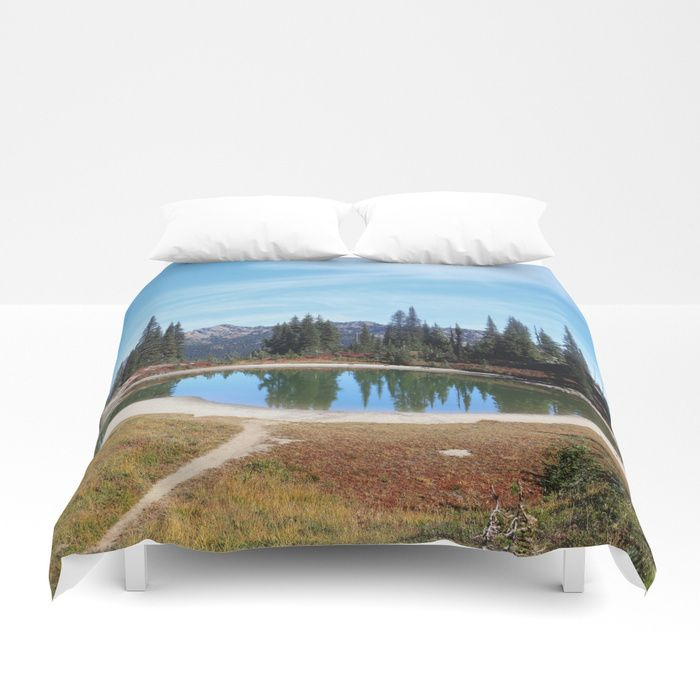 Buy Alpine Lake Duvet Cover By Sylviacookphotography Worldwide
