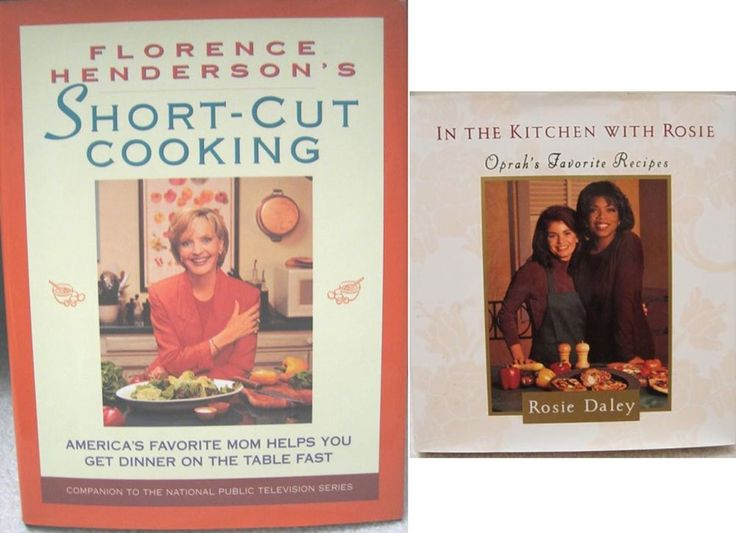 IN THE KITCHEN WITH ROSIE Oprah's Favorite Recipes cookbook Florence Henderson