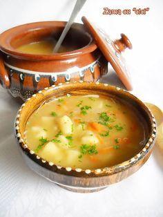 O supa traditionala de post pregatita in zona bihorului . Veti fi surprinsi de simplitatea acestei retete !