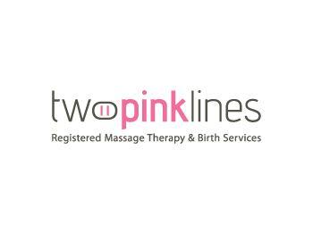 Two Pink Lines at https://www.LogoArena.com - logo by RetroMetro_Steve