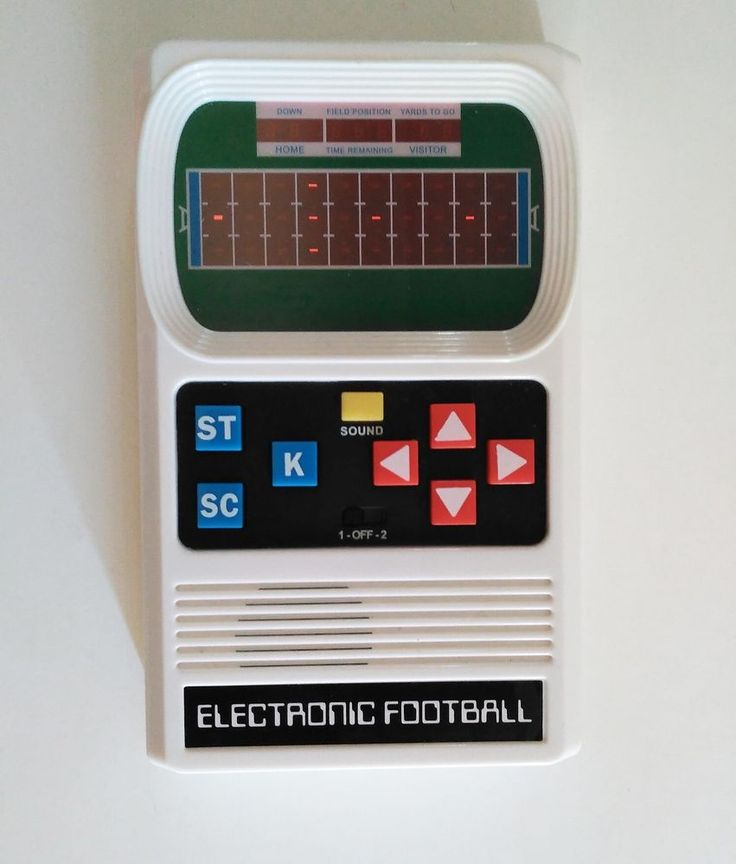 MATTEL CLASSIC  FOOTBALL ELECTRONIC GAME HANDHELD RETRO STYLE BASIC FUN