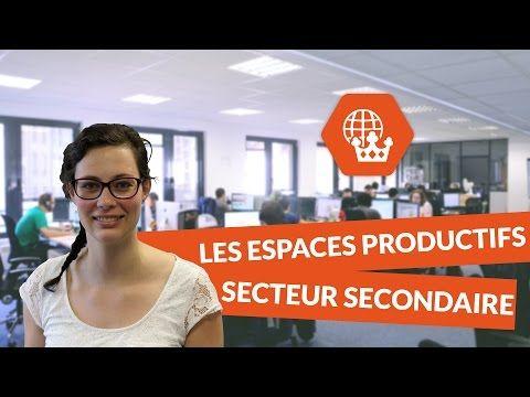 Les espaces productifs : secteur secondaire - Histoire Géographie Collège - digiSchool - YouTube