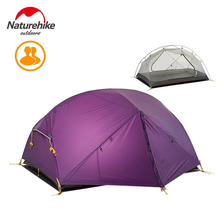 Naturehike 2 Person Outdoor Camping Tent Outdoor Double-layer Waterproof 3 Season Tent NH17T007-M