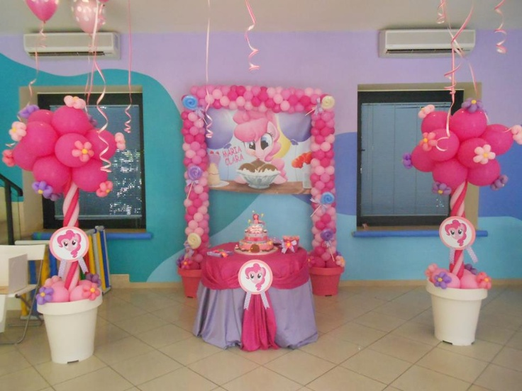 PPP Pinkie Pie Party My Little Pony Ideas I LOVE The Flower Pots