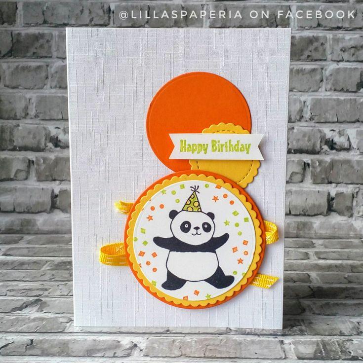 Bright Birthday Panda by PikkuLilla - at Splitcoaststampers