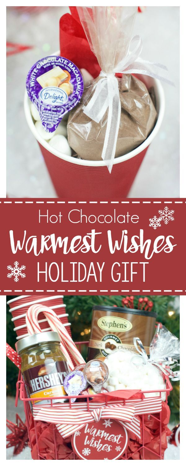 Warmest Wishes Hot Chocolate Gift Idea for Friends