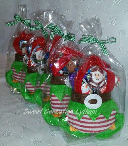 Treat filled Elf pants  £6.99. Available to order now from www.facebook.com/SweetSensationLytham or www.SweetSensationLytham.weebly.com