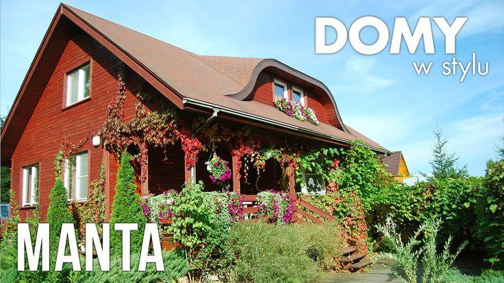 Projekt Manta to klimatyczny nieduży projekt drewnianego domu jednorodzinnego. Niezwykle funkcjonalne wnętrze połączone z drewnianą technologią wykonania, sprawia że projekt idealnie wpasowuje się w wiejskie klimaty. #domywstylu, #mtmstyl, #filmy, #realizacja, #projekty, #manta