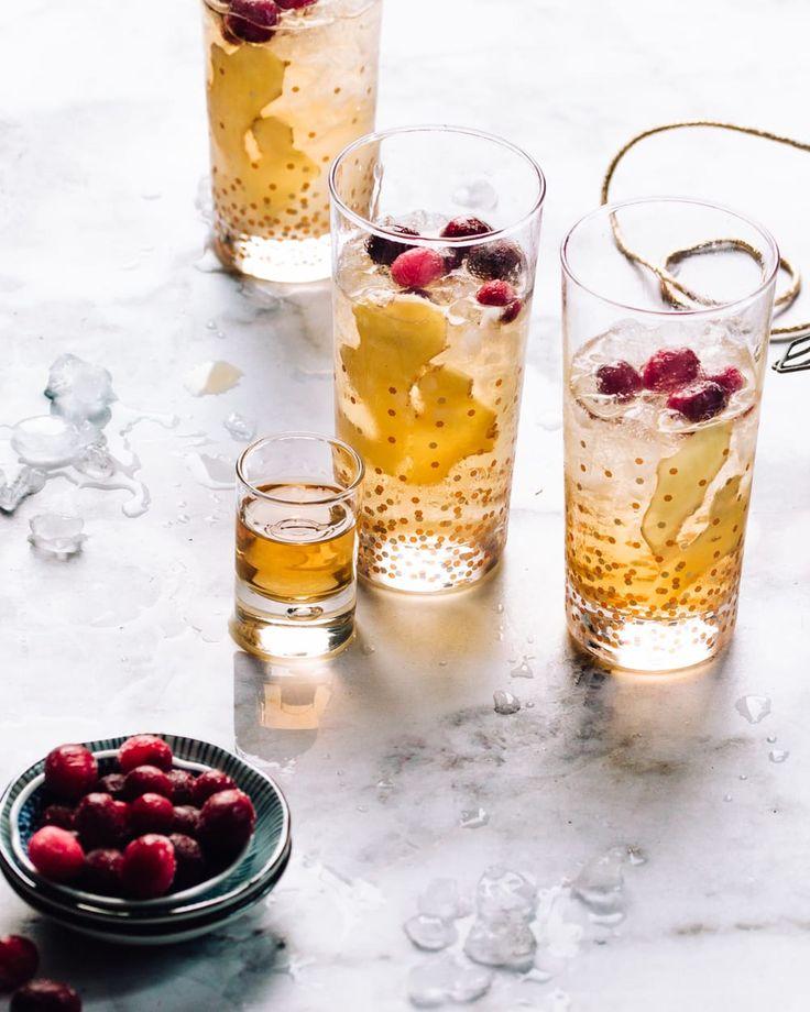 Sparkling Ginger Cocktail