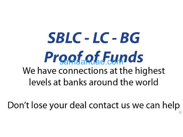 BG/SBLC & Monetization for 90% LTV,Private Placement