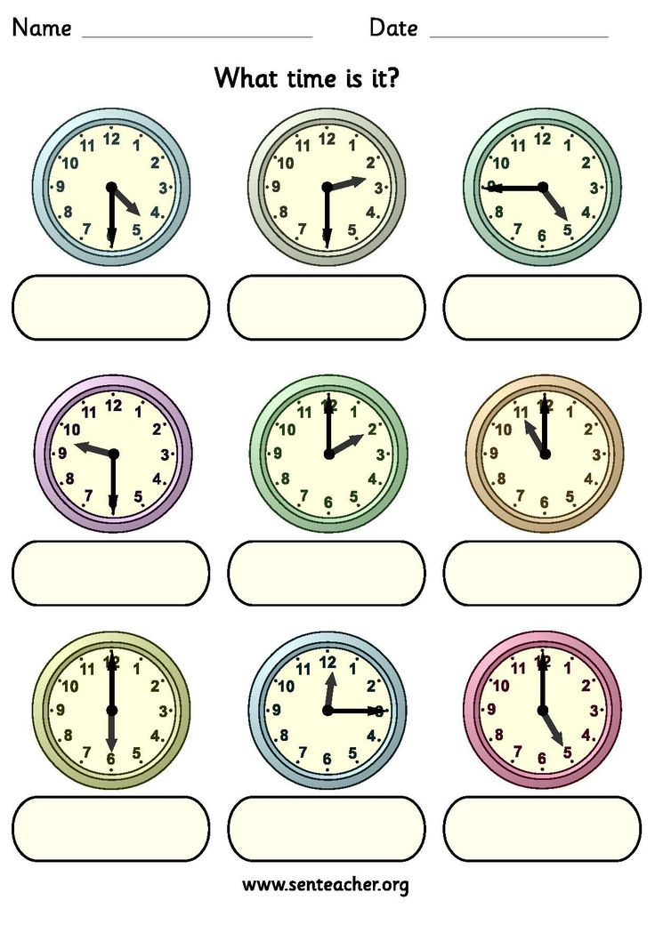 19 best images about TickTock Learning to Tell Time on – Clock Worksheet