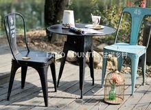 Фано фано сделать старофранцузского дачная мебель, Из кованого железа стулья стиле лофт кресло синий H006(China (Mainland))