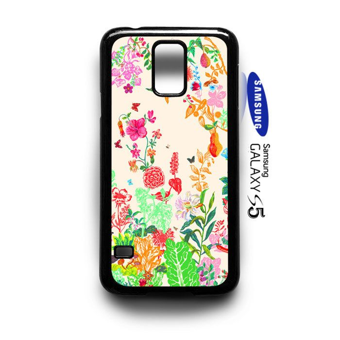 beautifull floral pattern Samsung Galaxy S5 Case Cover - PDA Accessories
