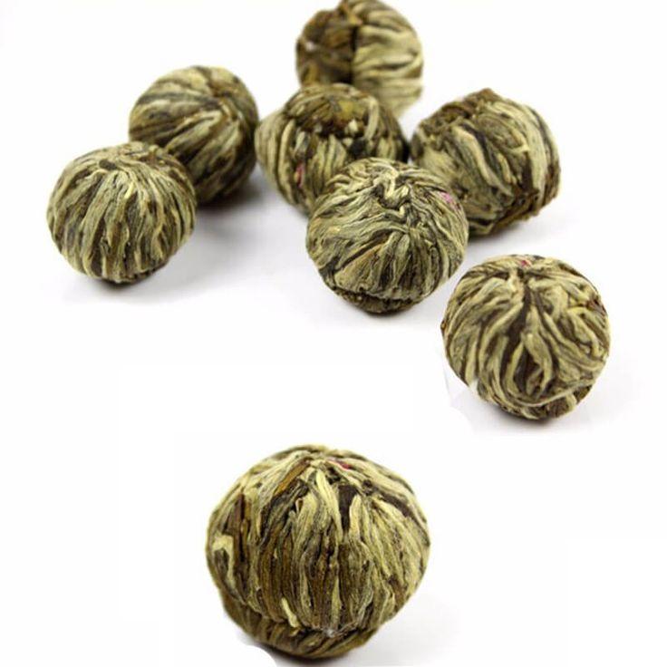 Handmade Blooming Flower Tea Ball //Price: $18.00 & FREE Shipping //     #Health #Antiaging #TeaStory #TeaLeaves #Oolong #Aroma #GreanTea #Traveling #Teapot #Drink #Natural #TeaSmarter