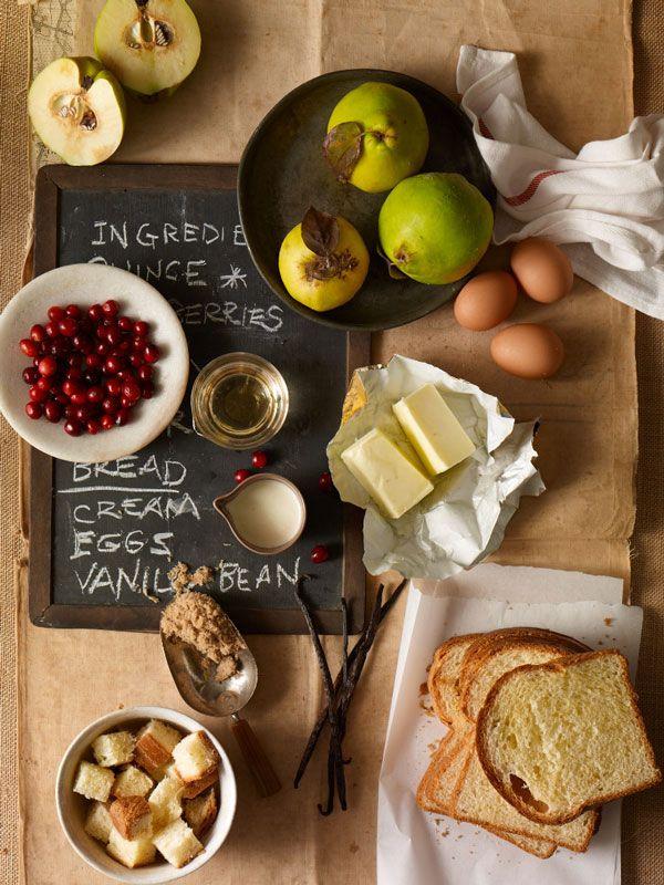 Fall Bread Pudding / Image via: Our Seasonal Table #entertaining