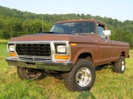 1979 Ford F-Series 4x4 Beater by ford141 http://www.truckbuilds.net/1979-ford-f-series-4x4-beater-build-by-ford141_1