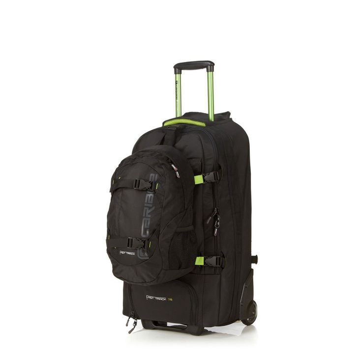 Fast Track 75 Travel Pack/ Wheeled Rucksack (black): Amazon.co.uk: Luggage
