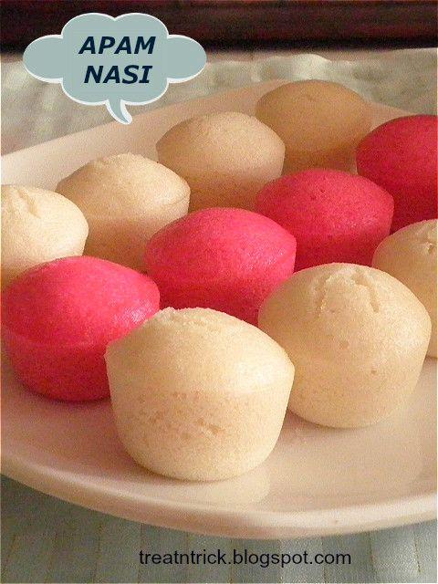 TREAT & TRICK: APAM NASI (STEAMED RICE CAKE)