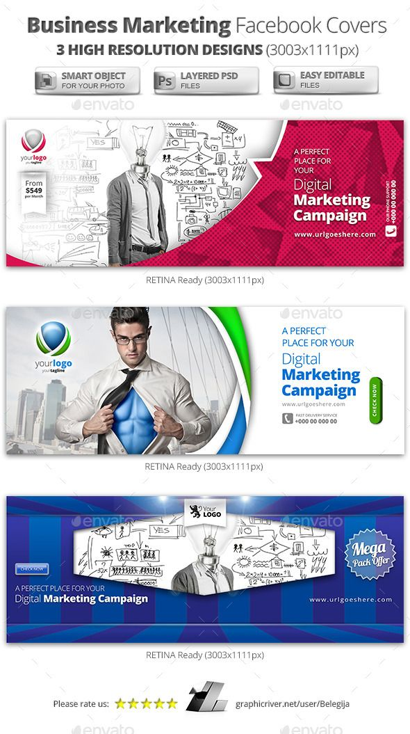 Business Marketing Campaign Facebook Covers - Facebook Timeline Covers Social Media