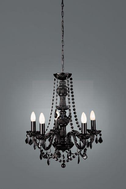 Massive Żyrandol Flaubo 41766/30/10 : Lampy wiszące z kryształami : Sklep internetowy Elektromag (#glamour #lamp)