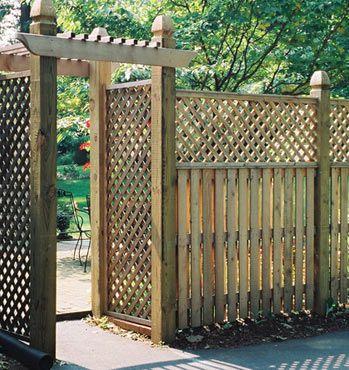 Деревянный забор на даче своими руками + фото, чертежи
