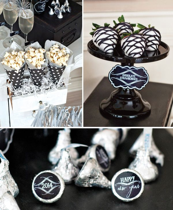 Vintage Style Countdown Themed Party // Hostess with the Mostess