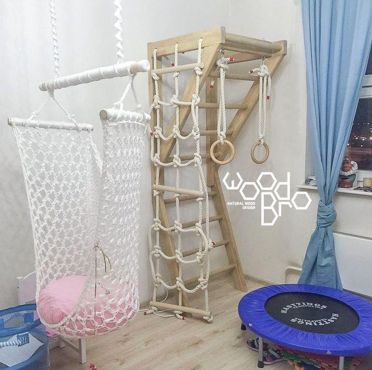 Детский спортивный комплекс для дома купить - Вудбро