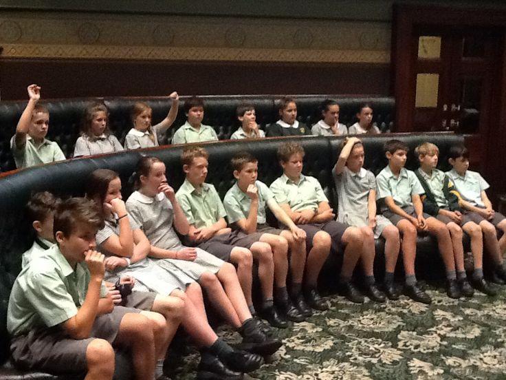 Sydney Excursion- Parliament House.
