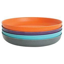 BIOBU [by EKOBO]® Bambino Side Plates Orange - Set of 4