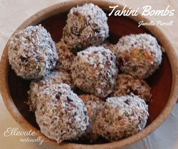 Tahini Bombs https://www.facebook.com/ellevatenaturally/photos/a.512672888762584.128986.512666322096574/891145620915307/?type=1&theater
