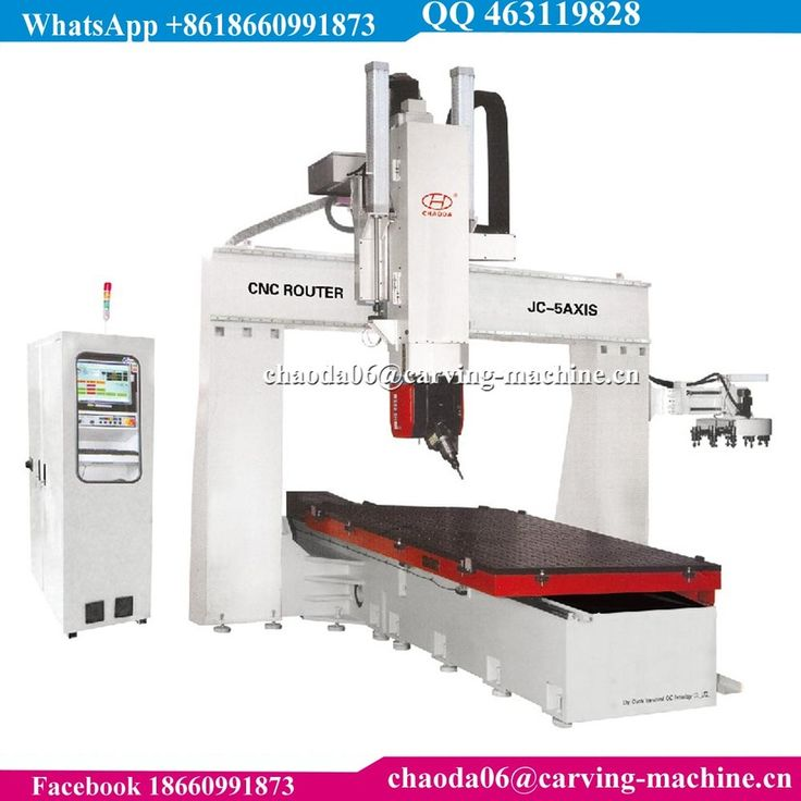 5 Axis CNC Wood Carving Machine 5-Axis CNC Router For Aerospace Plastics Wind Energy Composite Industries
