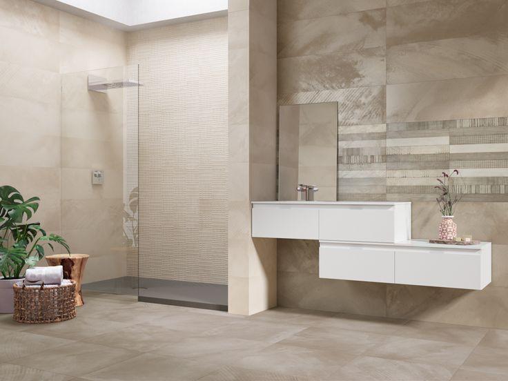 Mosaik Fliesen Bad in braun Home Pinterest - bad braun beige